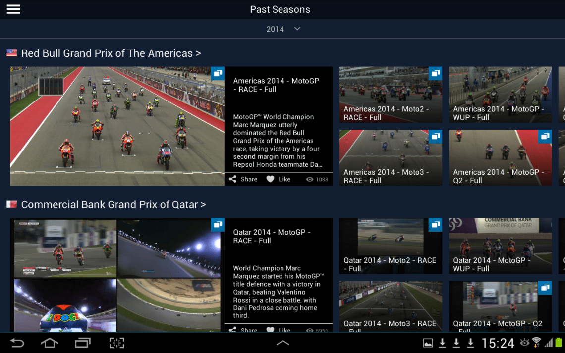 watch motogp 2017 for free with videopass