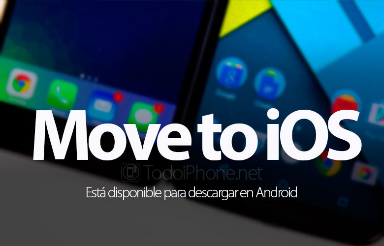 Move to iOS is available for download on Android 4