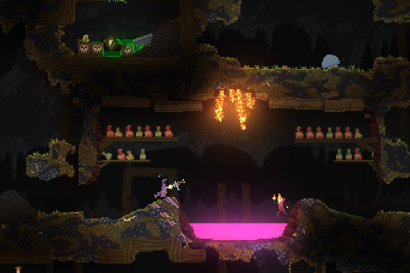 Noita's Early Access arrives, the roguelike where every pixel is alive