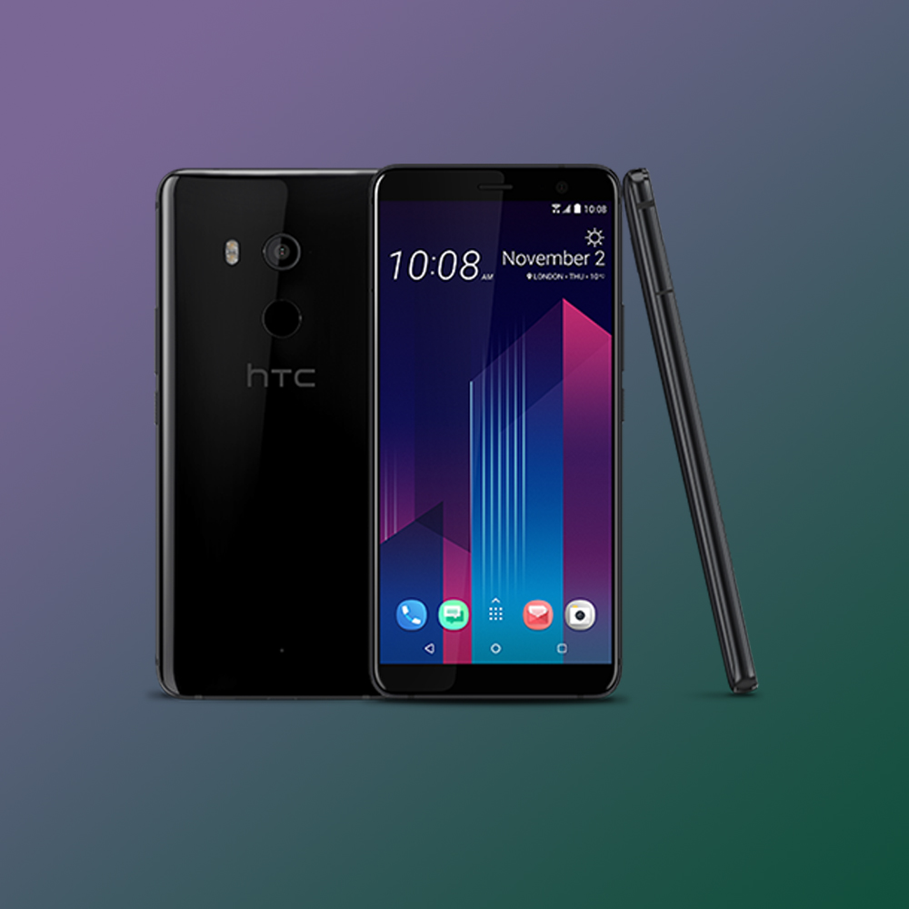 Now it is the HTC U11 + who is updated to Android 9 Pie