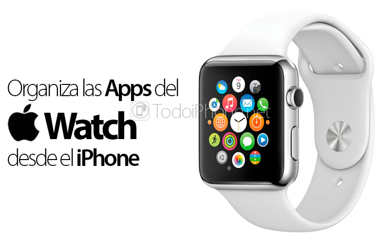 Organize the icons Apple Watch it will be possible from the iPhone 3