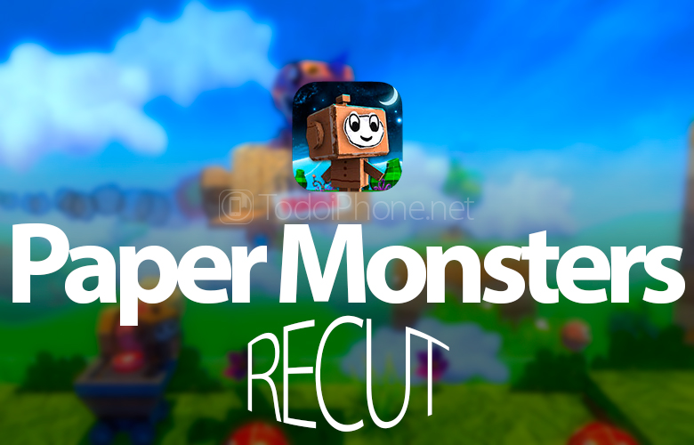 Paper Monsters Recut is now available for iPhone and iPad 3