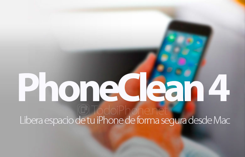 PhoneClean 4, free up space on your iPhone safely from Mac and Windows 9
