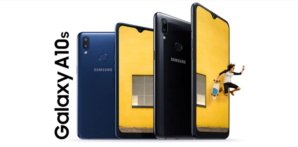 Samsung Galaxy A10s, input range with double camera and large battery
