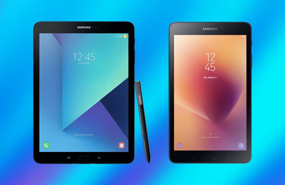 Samsung Galaxy Tab S3 and Tab 2017 A officially receive Android Pie