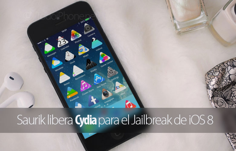 Saurik releases Cydia for iOS 8 Jailbreak 3