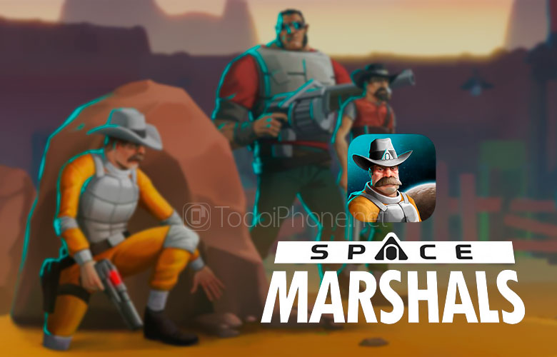 Space Marshals, a strategy and shooting game that you cannot miss on your iPhone 3