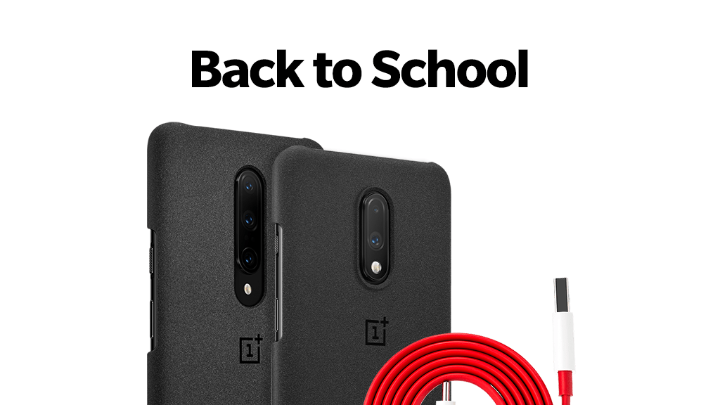 Take advantage of the Back to School when you buy a OnePlus Pro!