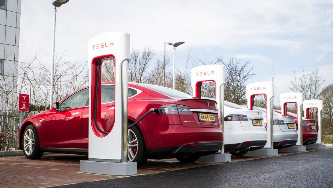 Tesla Boosts Capacity of Its Supercharger Chargers in Europe