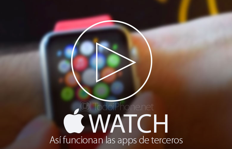 That's how they work, in the Apple Watch, third-party apps 3