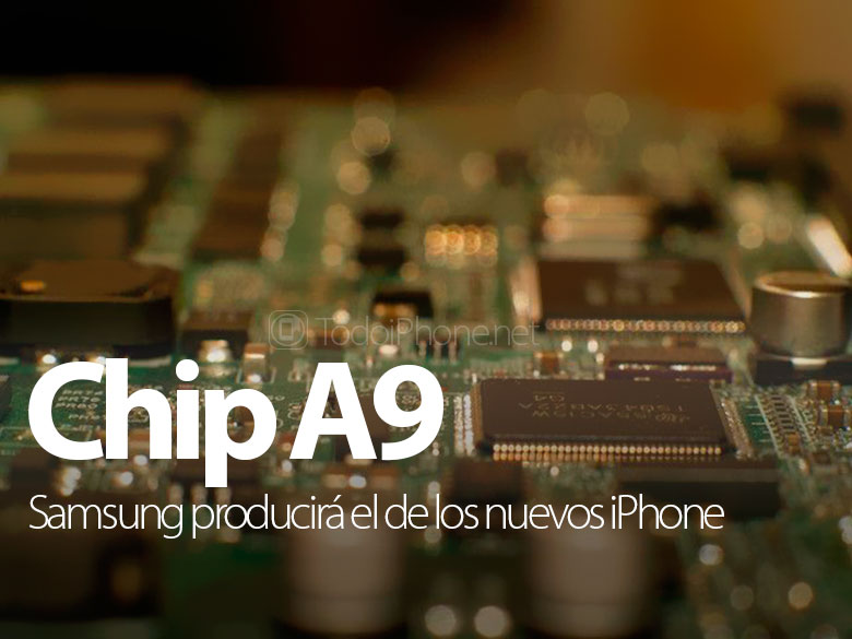 The A9 chip of the next iPhone will be produced by Samsung 2