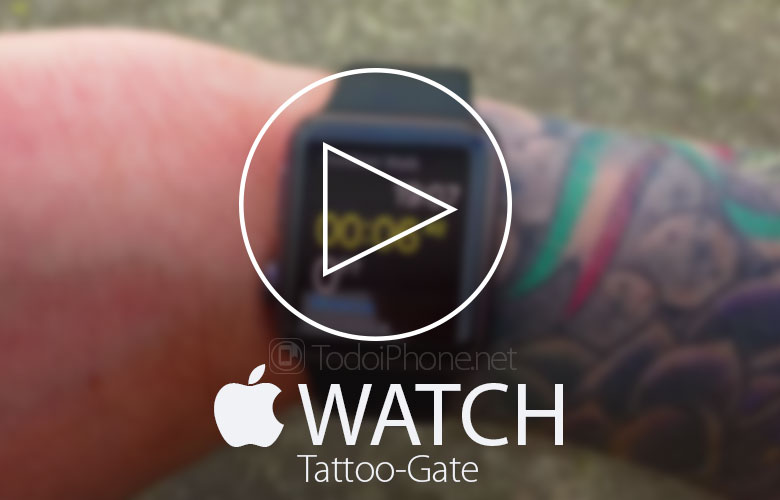 The Apple Watch Doesn't work with wrist tattoos? 2