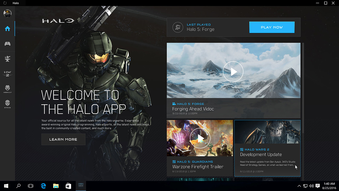 The Halo app will close its doors starting tomorrow