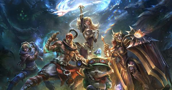 The competitive scene of League of Legends premieres brand new sponsor
