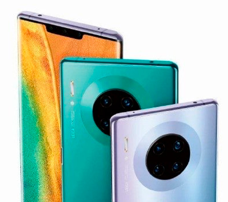 The design of the Huawei Mate 30 Pro confirmed in an official image