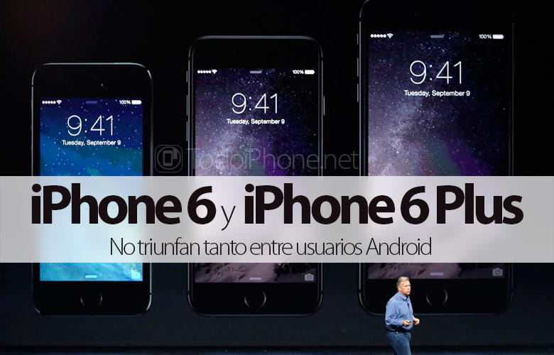 The iPhone 6 and iPhone 6 Plus do not succeed as much among Android users as expected 4