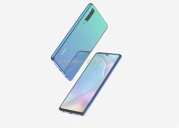 The next Huawei P30 and P30 Pro could include a fingerprint reader on the screen 2