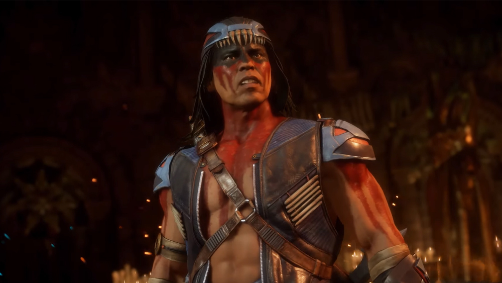These are the movements that Nightwolf will have in Mortal Kombat 11