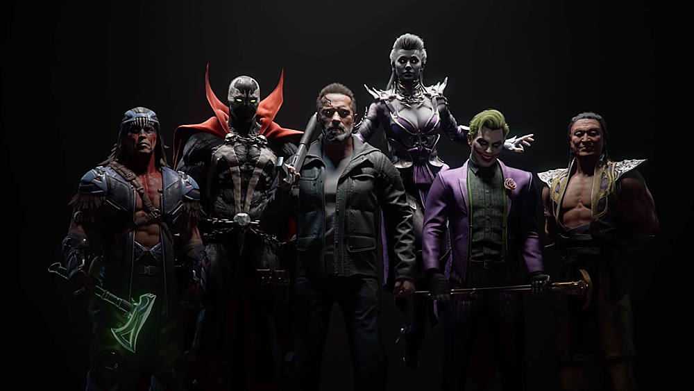This is what Sindel, Joker, Spawn and Terminator will look like in Mortal Kombat 11