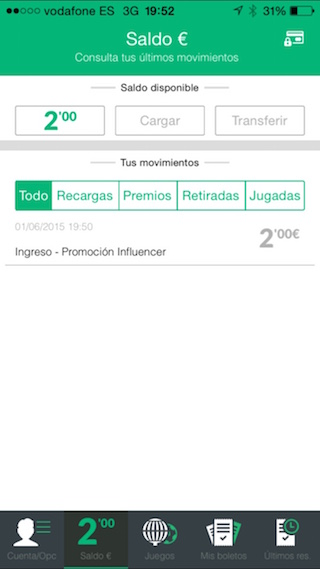TuLotero, lottery, pools, Euromillions and much more from your iPhone 10
