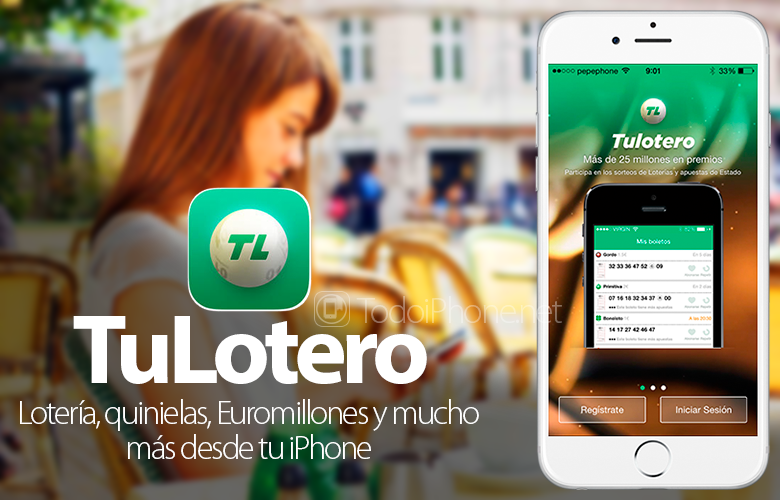 TuLotero, lottery, pools, Euromillions and much more from your iPhone 9