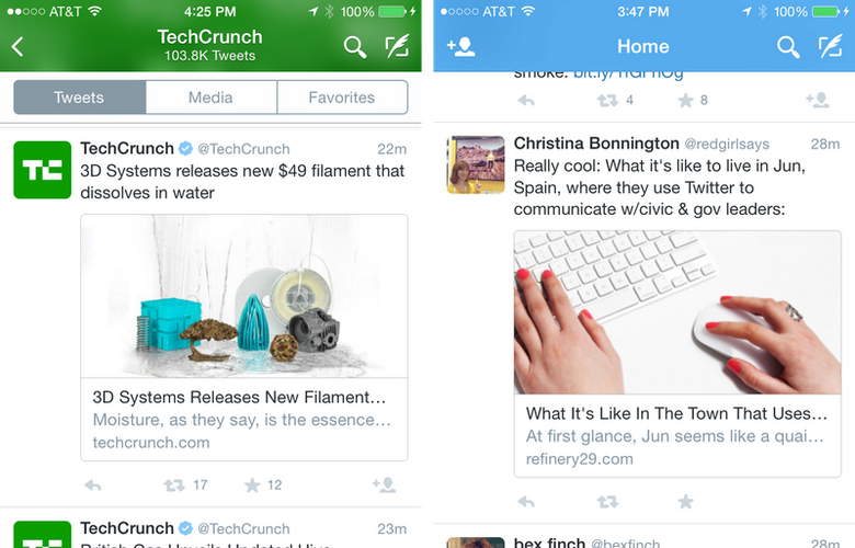 Twitter for iOS is updated with new features 5