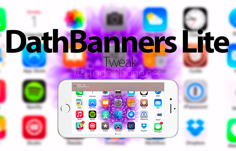 Use specific colors for notifications for each app with DathBanners Lite 2