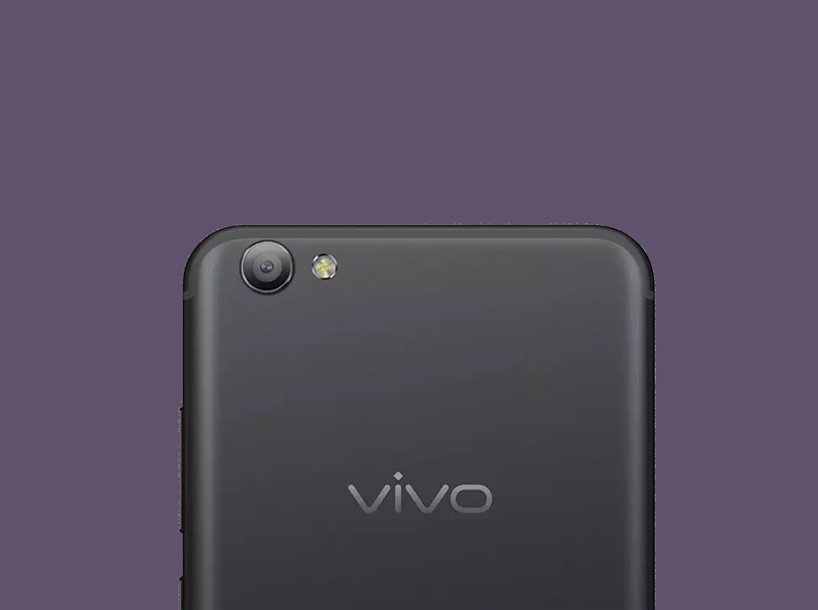 Vivo V15 Pro in blue appears in a photograph before its official announcement
