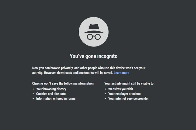 Websites Can Still Detect If You're Using Incognito Mode in Google Chrome
