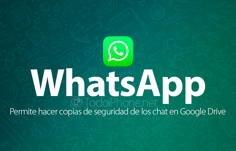 WhatsApp already allows you to backup messages on Google Drive with Android 4