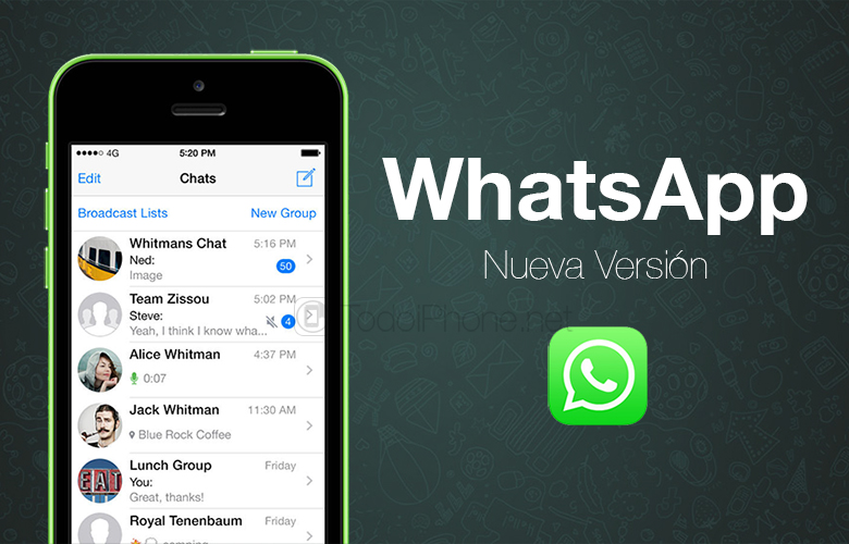 WhatsApp is already compatible with iPhone 6 and iPhone 6 Plus 2