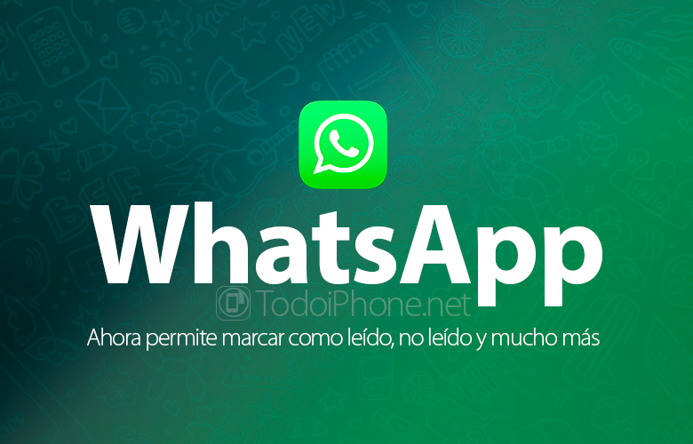 WhatsApp now allows to mark as read, unread and much more 2