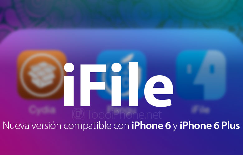 iFile is updated and is now compatible with iPhone 6 and iPhone 6 Plus 2