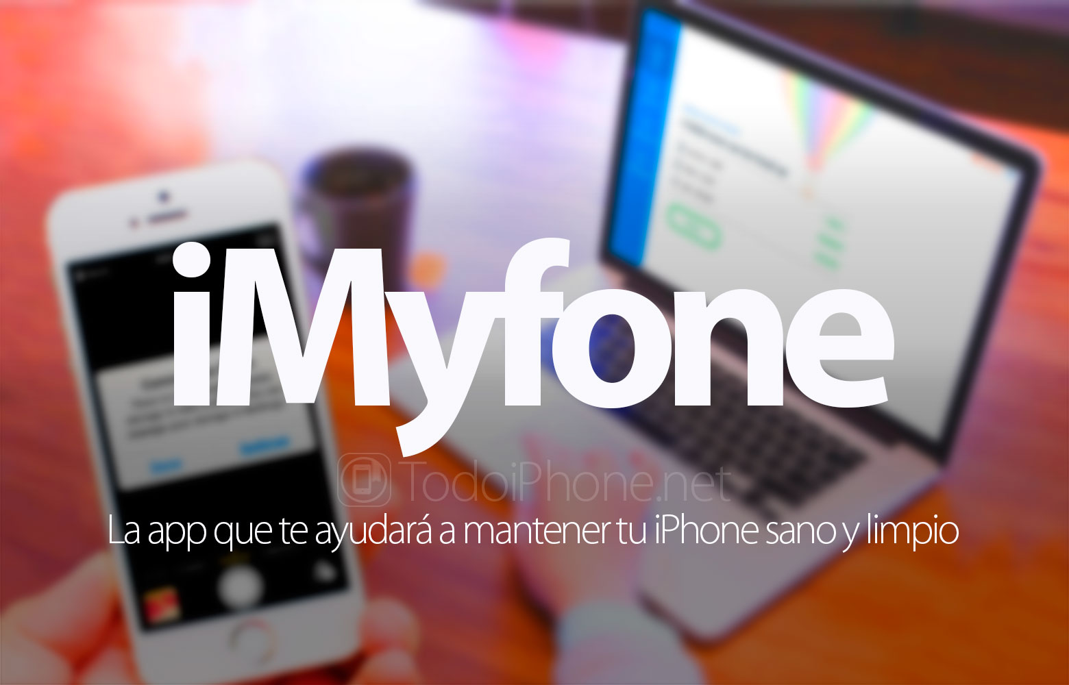 iMyfone, the app that will help you keep your iPhone healthy and clean 2