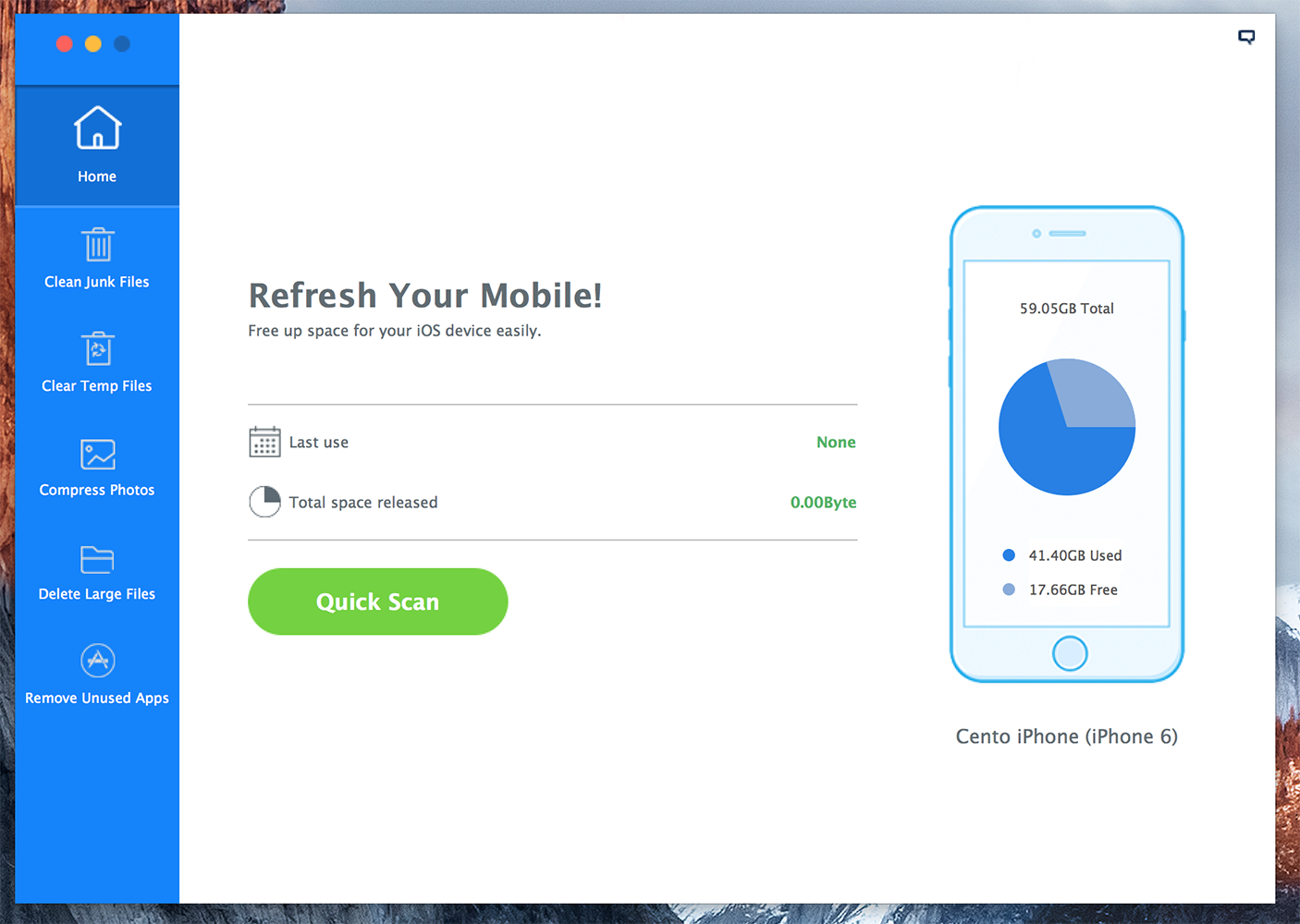 iMyfone, the app that will help you keep your iPhone healthy and clean 3