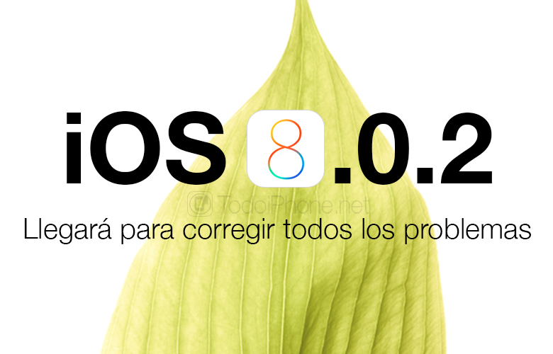 iOS 8.0.2 for iPhone and iPad will arrive to correct all problems 2