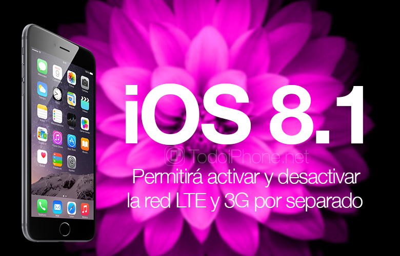 iOS 8.1 will allow you to individually enable and disable the LTE and 3G network 2