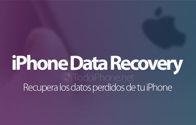 iPhone Data Recovery, recover lost data from your iPhone 5