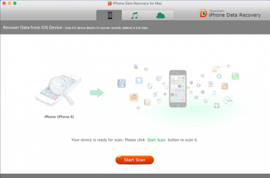 iPhone Data Recovery, recover lost data from your iPhone 6