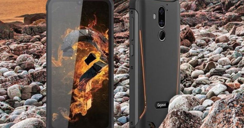 rugged phone with 6200mAh battery and Android Pie »ERdC