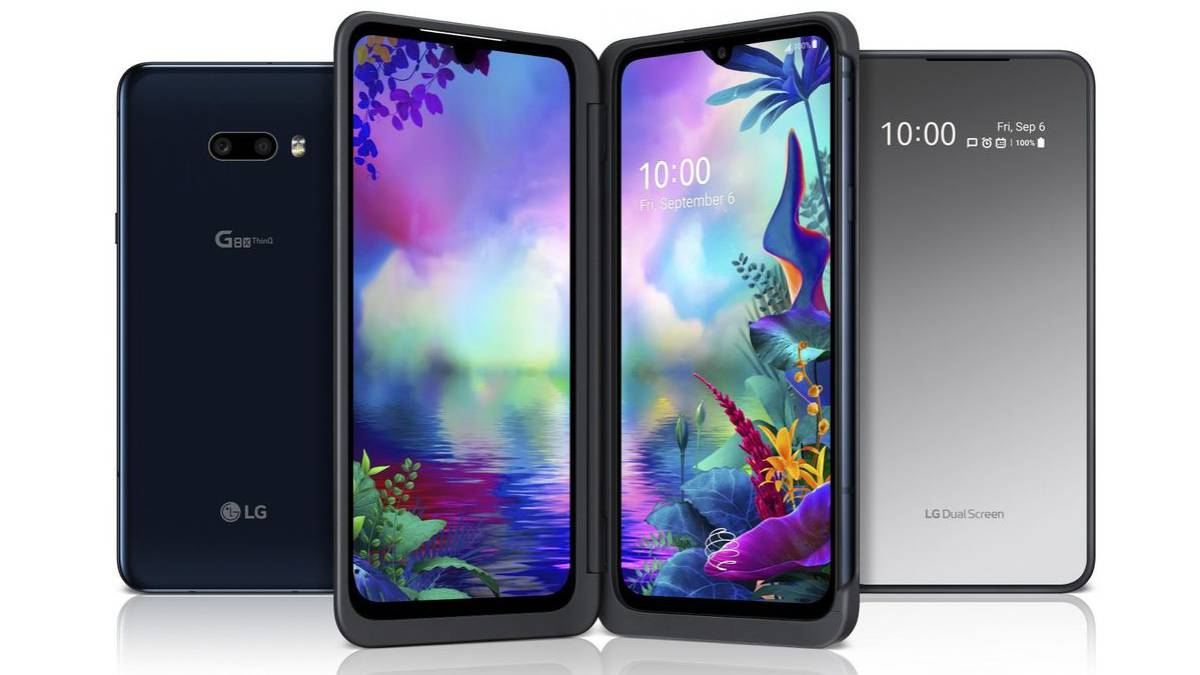 1 or 2 screens, the secret of the new LG G8x ThinQ 2
