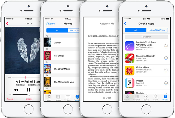 Familiy Sharing, a new feature of iOS 8 for content sharing 3