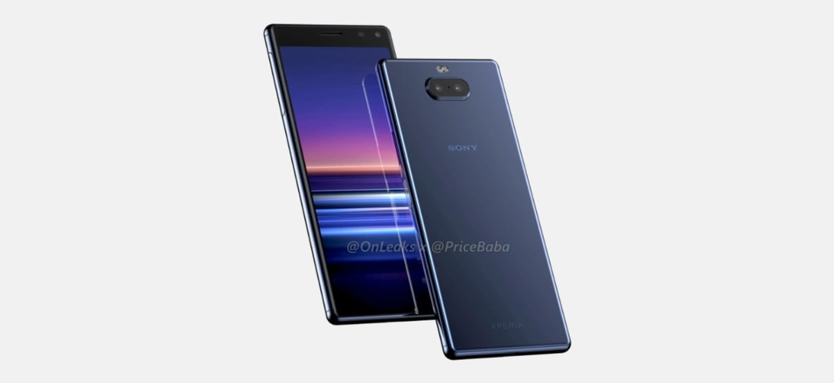 These are the rendered images of the Sony Xperia 2 that reveal and confirm their appearance 2