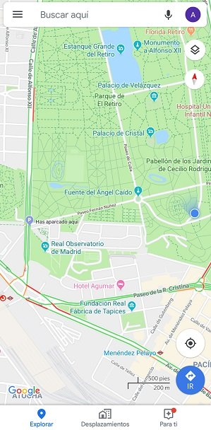 Image - How to save the parking location in Google Maps
