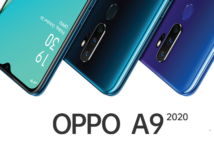 The OPPO A9 2020 will include a 5,000 mAh battery and four sensors in the rear camera