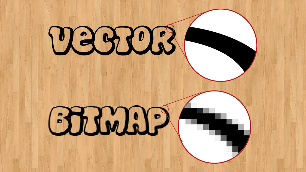 Understanding Bitmap And Vector Along With The Differences Between The Two
