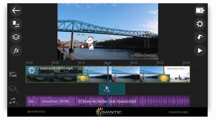 6 Best Video Editors for ANDROID 2019 (Pro and Free) 7