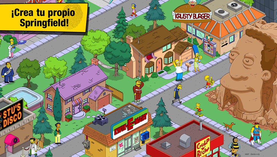 The medieval era comes to the Simpsons game: Springfield 5
