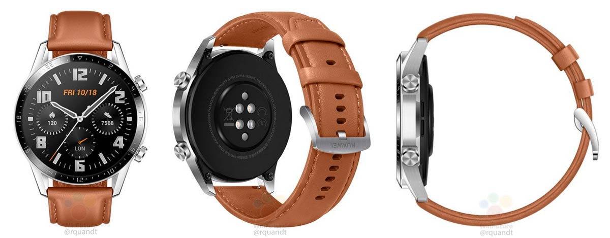 First images of the Huawei Watch GT 2: more battery, without Wear OS