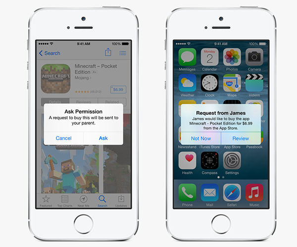 Familiy Sharing, a new feature of iOS 8 for content sharing 5
